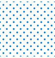 seamless pattern with tile blue polka dots vector image vector image