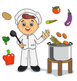 cooking vector image vector image