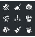 Icons Set of Utility Service vector image