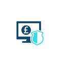 internet banking secure electronic payment icon vector image