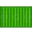 soccer court vector image