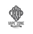 vape badges vector image vector image