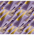 Christmas seamless triangle modern pattern violet vector image