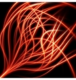 Fire flame burn background EPS 10 vector image vector image
