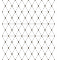 seamless monochrome pattern with triangles vector image