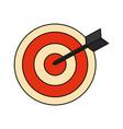Target dartboard symbol
