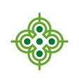 Logo Design Letter C Arrow Icon Symbol Abstract vector image