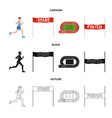design of sport and winner symbol vector image vector image