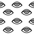 eye pattern vector image vector image