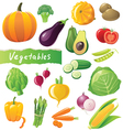 Great vegetables set vector | Price: 3 Credits (USD $3)