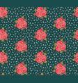 hand drawn bright bohemian christmas snowflakes vector image vector image