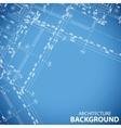 New building plan vector image vector image