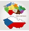 Czech republic Map vector image