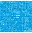 Blueprint Pattern vector image vector image