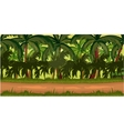 Jungles Game Background vector image vector image