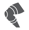 knee brace glyph icon orthopedic and medical leg vector image vector image