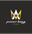 power king vector image vector image