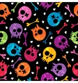 Skulls seamless pattern vector | Price: 1 Credit (USD $1)