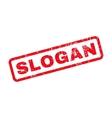 Slogan Rubber Stamp vector image