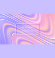 abstract colorful wave flow background vector image