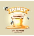 Apiary emblems vector image vector image