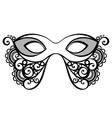 Beautiful Masquerade Mask vector image vector image