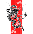 chinese dragon new year vector image vector image