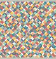color geometric background seamless patterns vector image