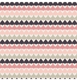 Cute retro abstract stripe seamless pattern vector image vector image