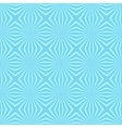 Geometric Flower Blue seamless pattern background vector image
