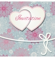 happy valentines day and weeding card vector image vector image