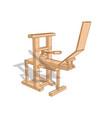printing press vector image