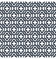 quatrefoil ikat contour seamless line vector image