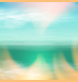 sea summer landscape in sunny day vector image vector image