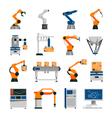 automation icons set