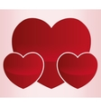 cartoon heart love image vector image vector image