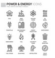 power energy vector image