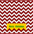 seamless christmas pattern with card and text vector image vector image