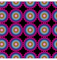 Seamless pattern Pink purple and blue color vector image