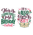 birthday lettering in retro style anniversary vector image