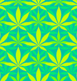 Cannabis marijuana leaves seamless pattern