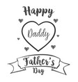 happy father day celebration hand draw vector image vector image