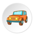 Offroad icon isometric style vector image