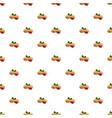 peanut pattern seamless vector image vector image
