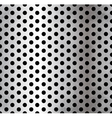 perforated metallic seamless pattern vector image vector image