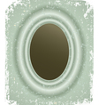 Photo frame on grunge retro background vector image vector image