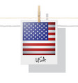 photo of united states of america flag vector image