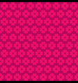 pink flora pattern background vector image