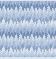 seamless winter pattern of fir trees vector image vector image