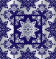 silver cobalt reflief sq vector image vector image